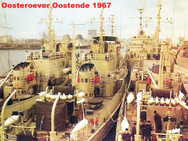 Les 26 drageurs de mines côtiers 'MSC' de la Marine belge Ajans_10