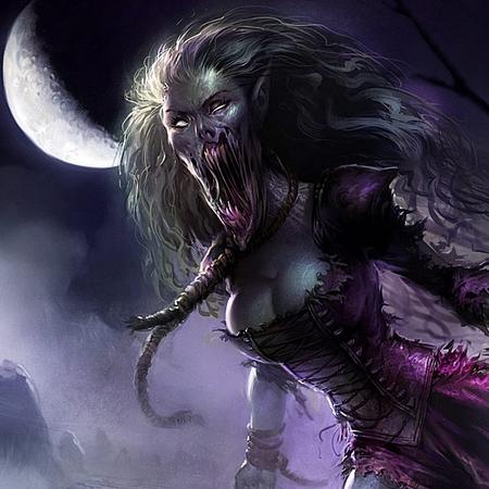 Demande d'ajout de monstres dans le bestiaire - Page 2 Banshe11