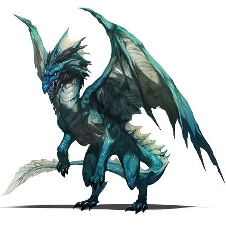 Demande d'ajout de monstres dans le bestiaire - Page 2 Dragon11
