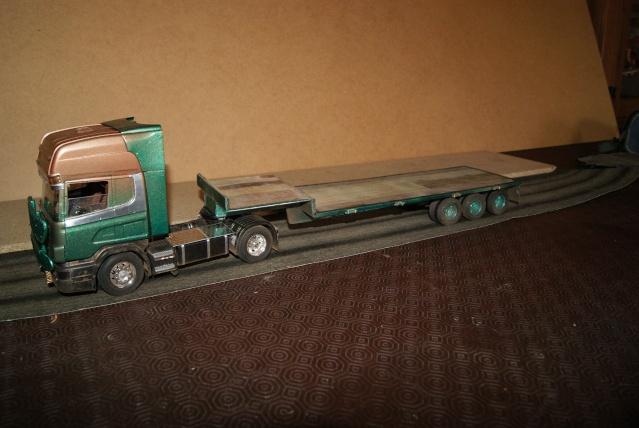 Présentation de ma nouvelle réalisation caravane de forain. Scania19