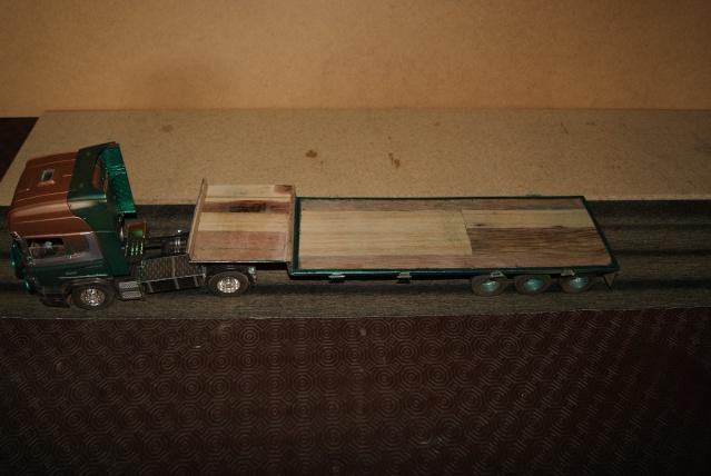 Présentation de ma nouvelle réalisation caravane de forain. Scania20