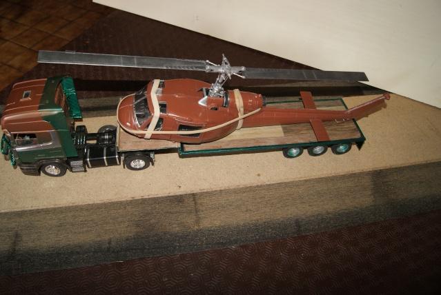 Présentation de ma nouvelle réalisation caravane de forain. Scania23