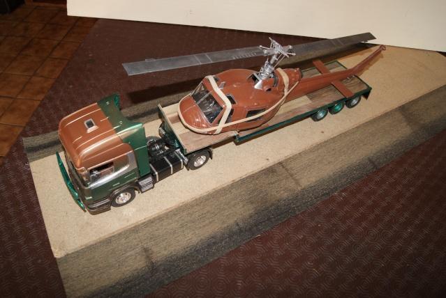 Présentation de ma nouvelle réalisation caravane de forain. Scania24