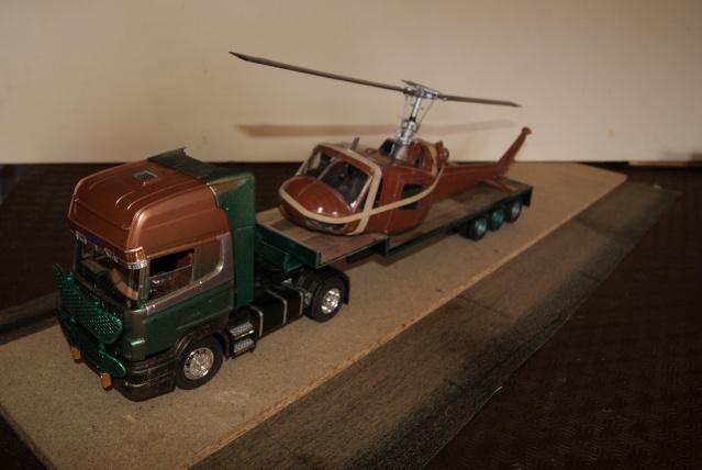 Présentation de ma nouvelle réalisation caravane de forain. Scania25