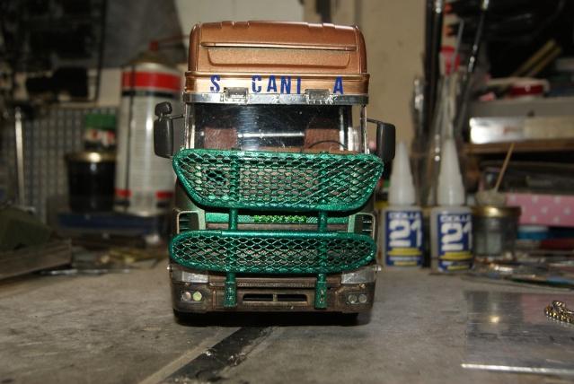 Présentation de ma nouvelle réalisation caravane de forain. Scania27
