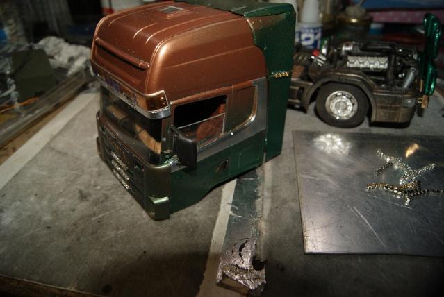 Présentation de ma nouvelle réalisation caravane de forain. Scania30