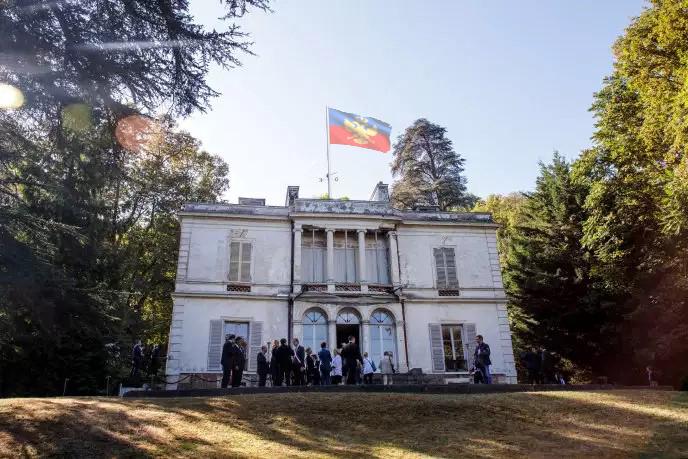 Le batiment de l'ambassade Ambass10