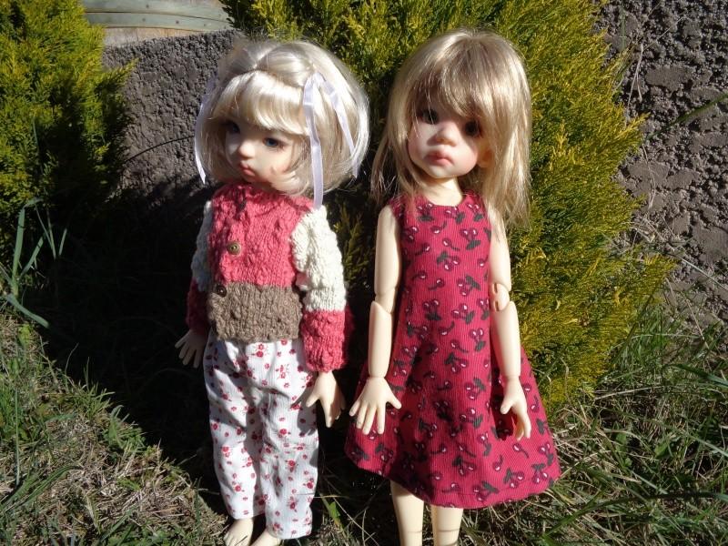 Camille et Mathilde profitent des cours de couture de Léoniepimpon - 1ère leçon Dsc02021