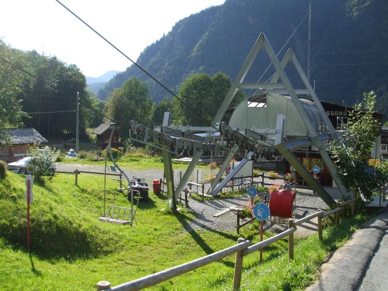 Télésiège du glacier des Bossons Dscf0413