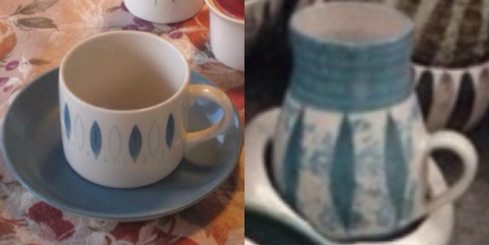 Hanmer Pottery mugs (4,5,6) and bowls (2) Nelson10