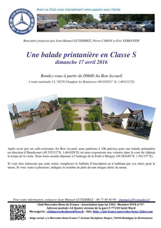 Dim 17 avril 2016 : Balade Printanière en Classe S 2016_010