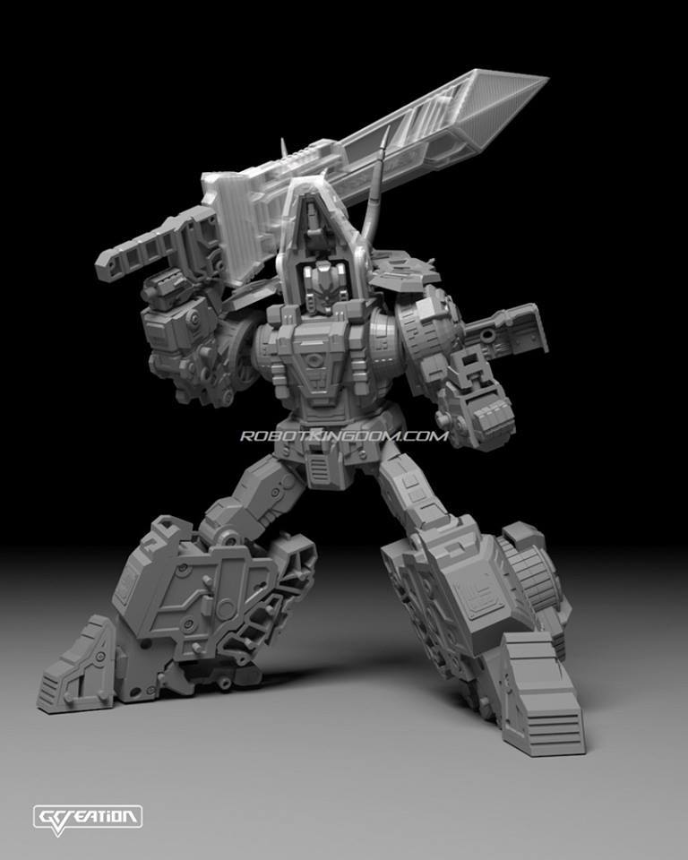 [GCreation] Produit Tiers - Jouet ShuraKing - aka Combiner Dinobots - Page 4 12717410