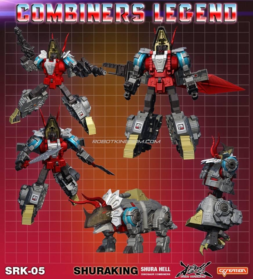 [GCreation] Produit Tiers - Jouet ShuraKing - aka Combiner Dinobots - Page 4 12718210