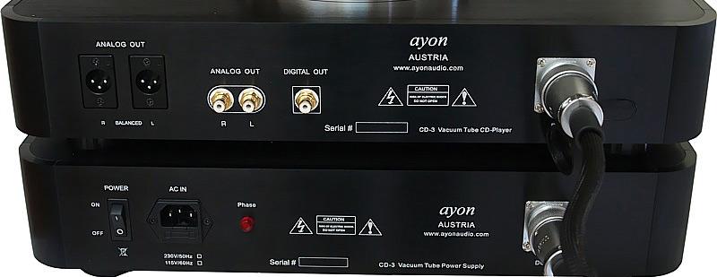 ...Nuova Sorgente DigitalValvolare Ayon CD3 Ayoncd15