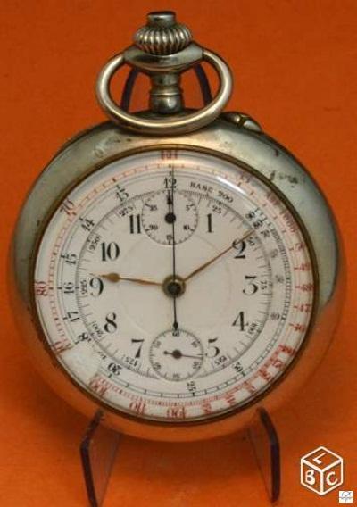 "Breitling - Chronographe gousset 19""' Breitling ?? 14556310"