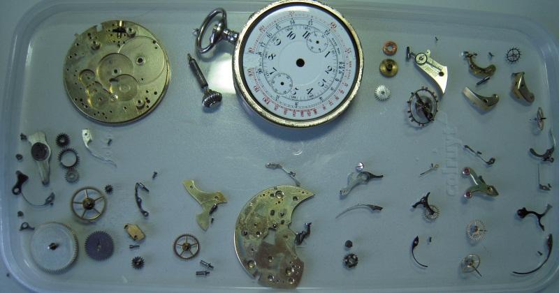 """Breitling - Chronographe gousset 19""""' Breitling ?? Dscn9610"""