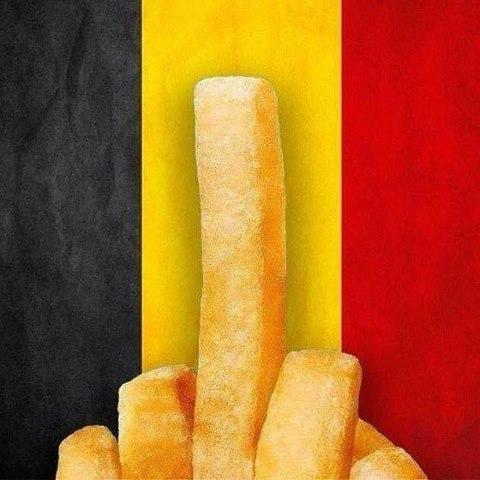 soutien amical à nos amis belges,apres les attentats de Bruxelle 12439411