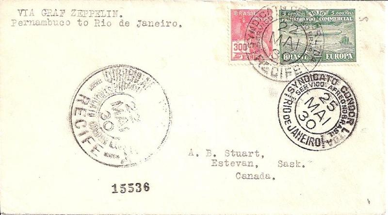 nach - Südamerikafahrt 1930, Post nach Rio de Janeiro - Seite 2 59_a_r10