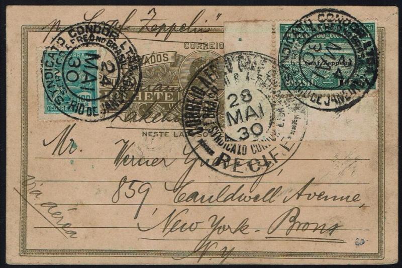 nach - Südamerikafahrt 1930, Post nach Lakehurst - Seite 4 59_d_e10