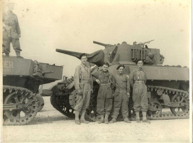 Char  M3A3 FLEURUS n°420409 du 501 RCC en 1944 194410
