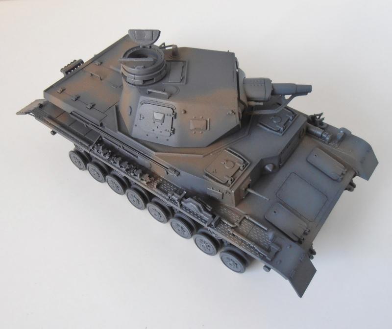 "Panzer IV Ausf D "" France 1940 "" ( Tamiya 1/35eme ) P3190218"