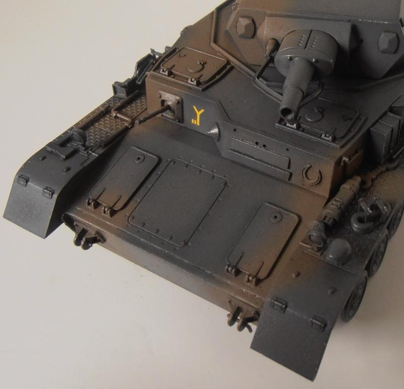 "Panzer IV Ausf D "" France 1940 "" ( Tamiya 1/35eme ) P3200319"