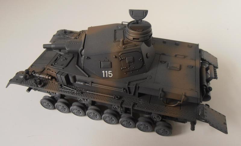 "Panzer IV Ausf D "" France 1940 "" ( Tamiya 1/35eme ) P3200321"