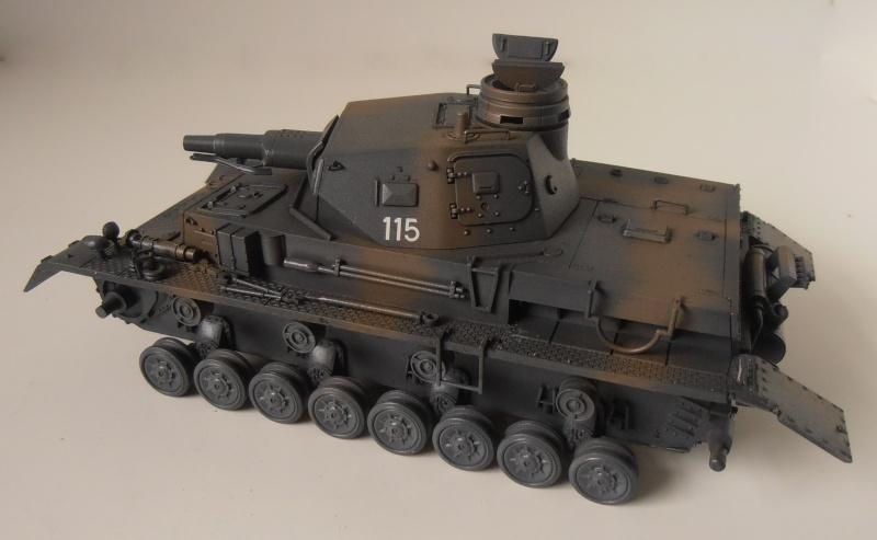 "Panzer IV Ausf D "" France 1940 "" ( Tamiya 1/35eme ) P3200322"
