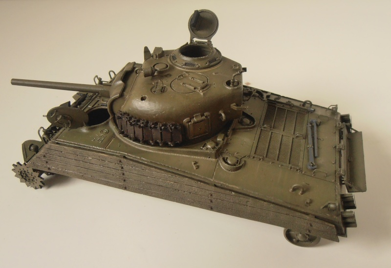 "Sherman M4A3 "" made in Pacifique "" ( Tamiya, Eduard, Neo Models au 1/35eme ) - Page 4 P3200329"
