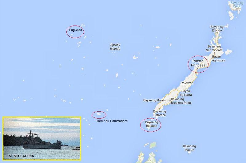 Marine des Philippines - Page 3 Carte10