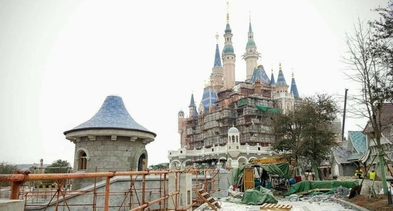 [Shanghai Disneyland] FANTASYLAND (Crystal Grotto/Peter Pan/Alice...Maze/7 Dwarfs/Winnie/Frozen)  Captur17