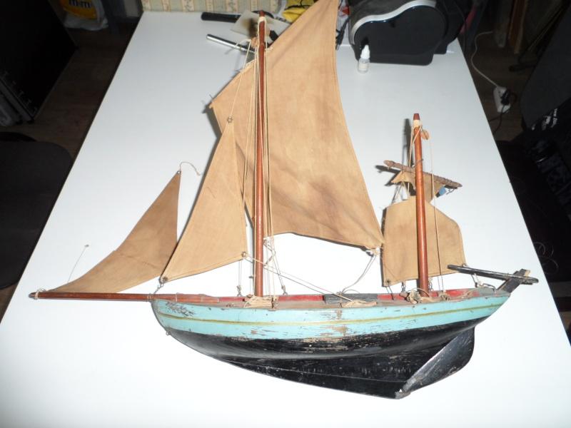 Maquette voilier de bassin 00110
