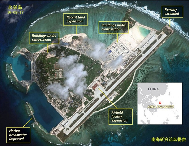 China build artificial islands in South China Sea - Page 5 Yongxi10