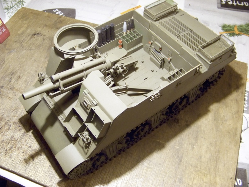 "M7 B1 105 Howitzer Gun Motor Carriage ""Priest""  1/16e 103_4011"