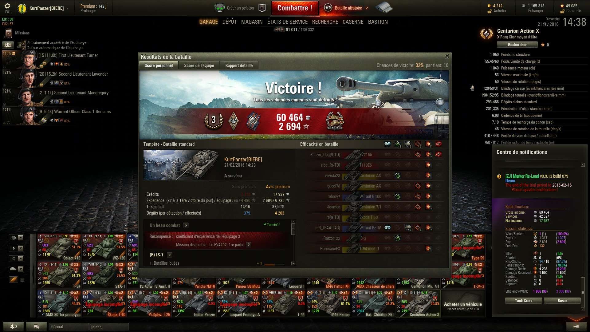 Screenshots et rapports de batailles Shot_310