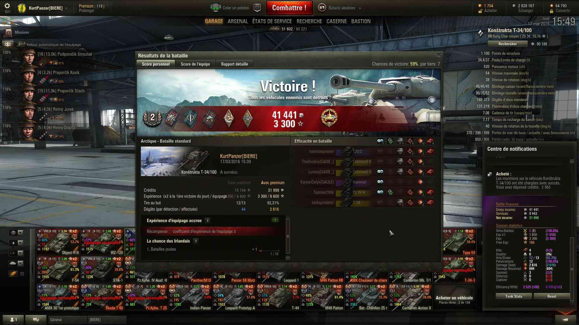 Screenshots et rapports de batailles - Page 2 Shot_313