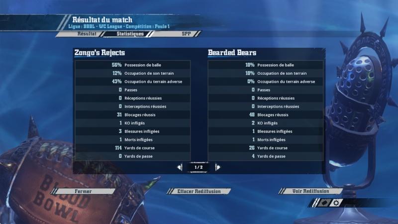 [Zongogo] Zongo's Rejects 3 - 0 Les bons batonnets du Captain [CAPTAIN TOTH] J5 20160313