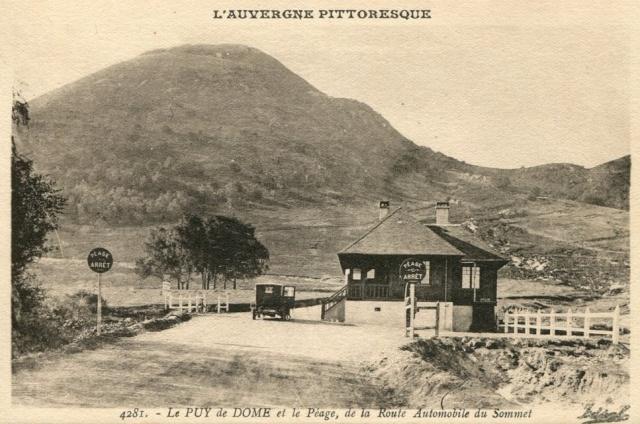 L'Auvergne, le Puy de Dôme, Michelin, l'aviation et l'automobile 070_0010