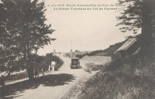 L'Auvergne, le Puy de Dôme, Michelin, l'aviation et l'automobile 854_0010