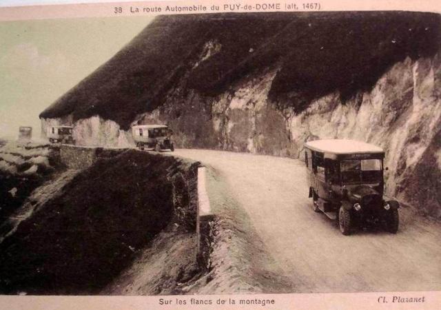 L'Auvergne, le Puy de Dôme, Michelin, l'aviation et l'automobile 88380810