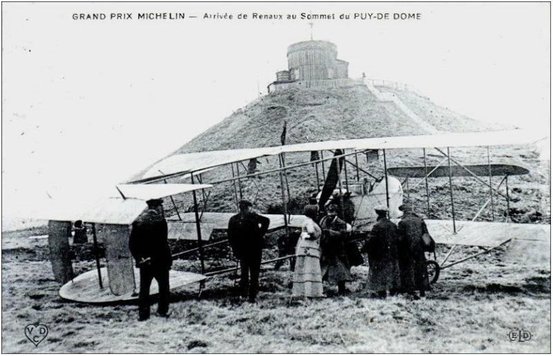 L'Auvergne, le Puy de Dôme, Michelin, l'aviation et l'automobile 907_0011