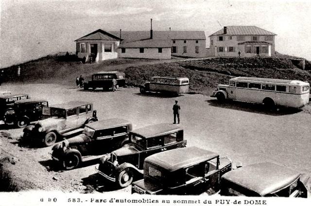 L'Auvergne, le Puy de Dôme, Michelin, l'aviation et l'automobile Marque10