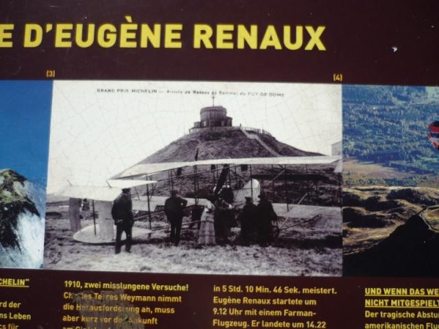 L'Auvergne, le Puy de Dôme, Michelin, l'aviation et l'automobile P1100911