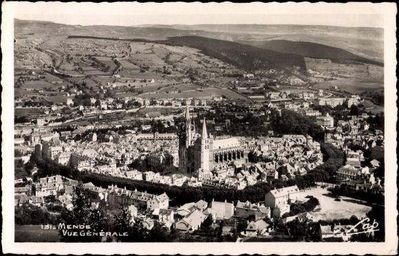 Cartes postales ville,villagescpa par odre alphabétique. - Page 4 Mende_10