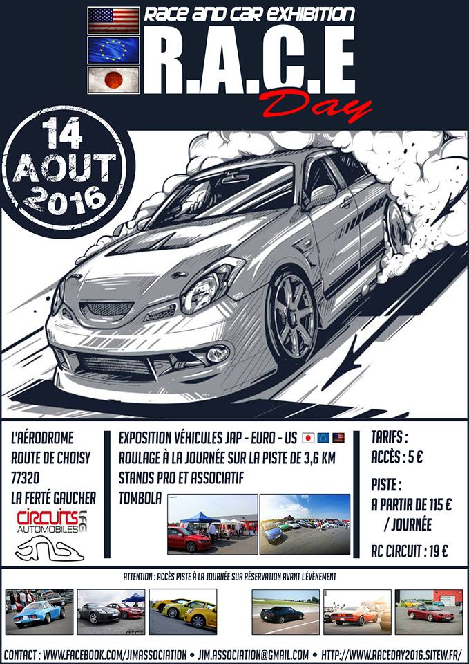 RACE DAY 2016 - Affiches et flyers 12781910