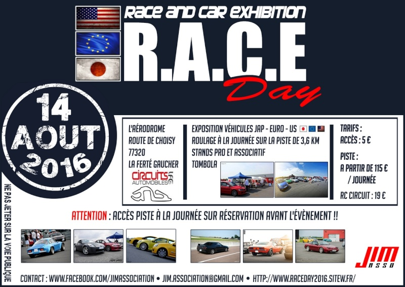 RACE DAY 2016 - Affiches et flyers Flyers10