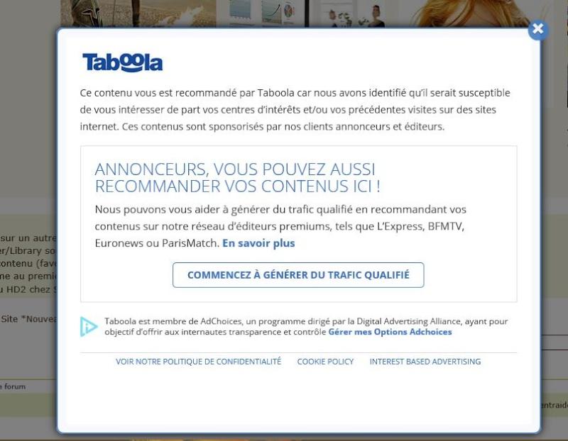 """Contenu sponsorisé"" ? Tabool10"