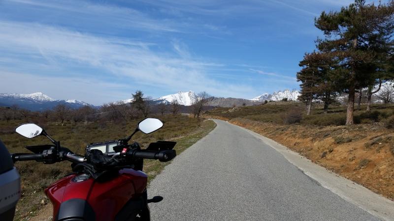Mon objectif du jour 550kms 20160328