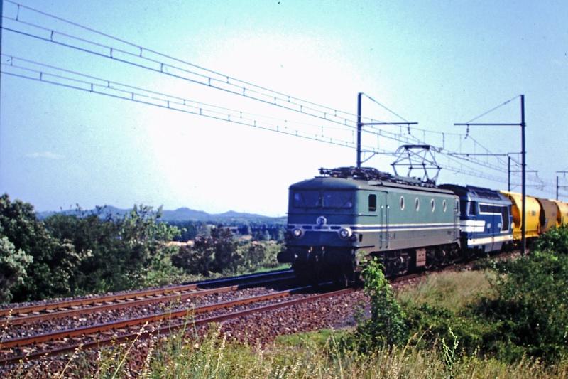 CC 7100 sur la ligne entre Remoulins et Avignon Cc-71011