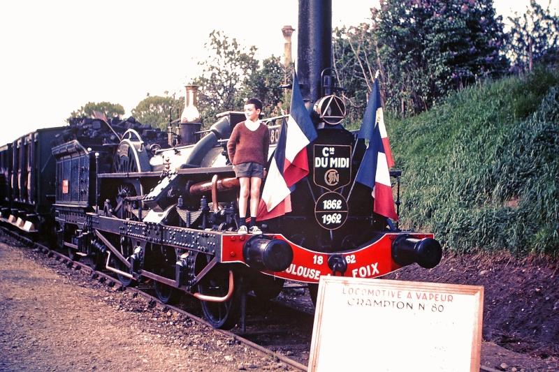 Pk 082,2 : Gare de Foix (09) : La Crampton 1962 Crampt10